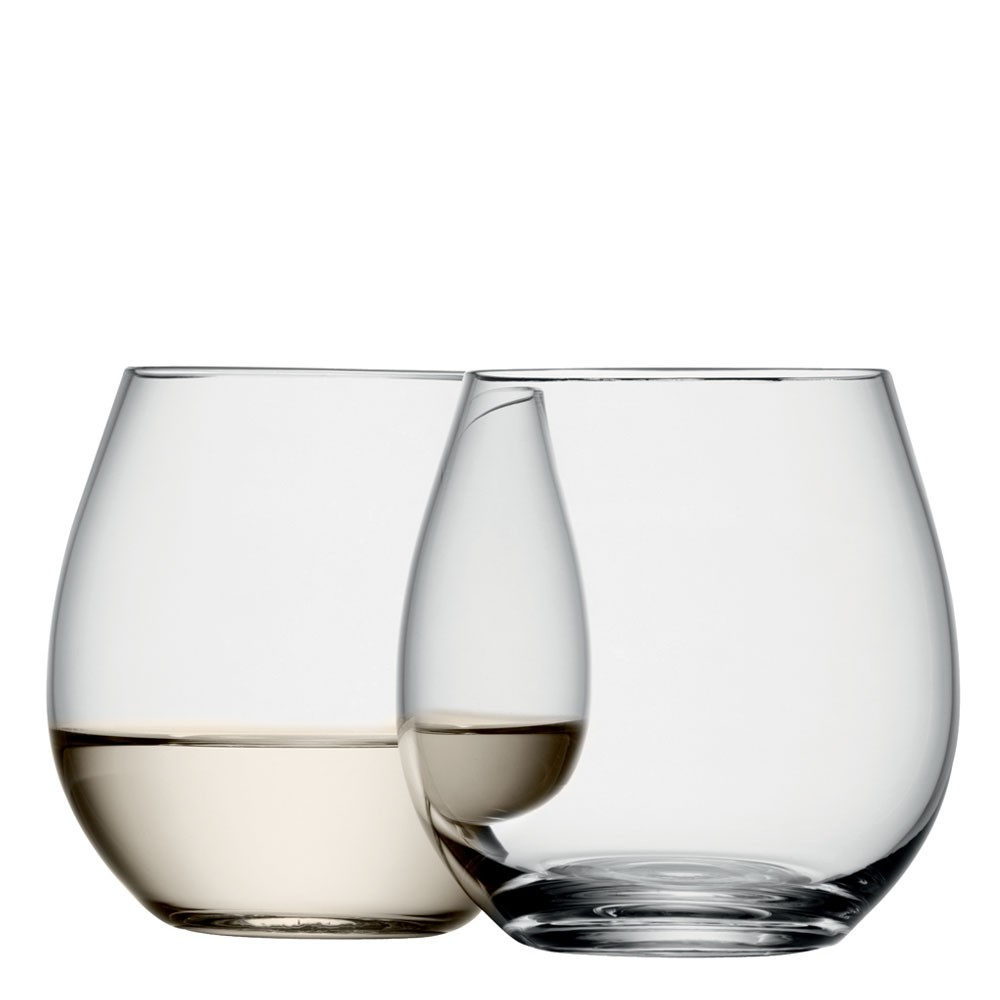 Stemless White Wine Glasses UK