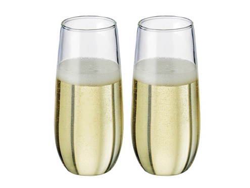 stemless champgagne flutes uk