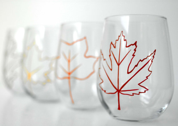 stemless wine glasses canada