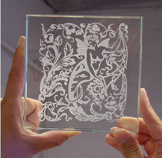 Glass Etching Stencils Made to Order | Pre-Cut Patterns